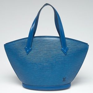 💙Like NEW! Authentic LV Leather Saint Jacques PM